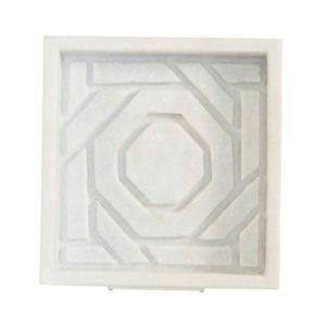 Marble Dish - Octagonal Lattic