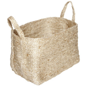 Small Natural Jute Basket