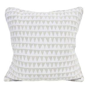 Pyramids Chalk Pillow