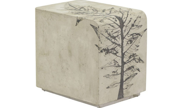PHC-978 Rectangular Concrete Side Table