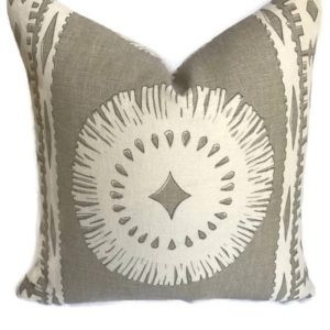 Bora Bora Pillow - Sea Oyster