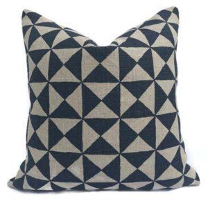 Nuba Pillow - Indigo