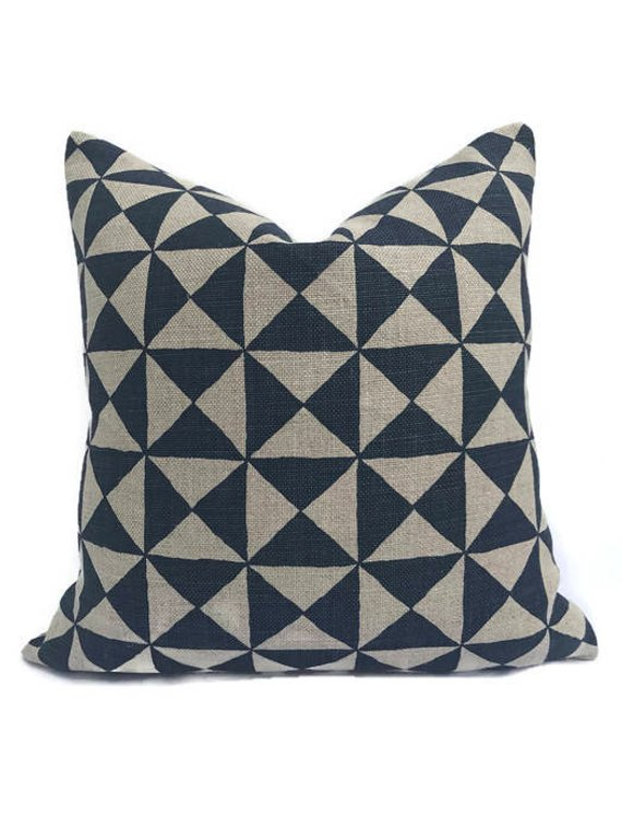Nuba Pillow - Indigo