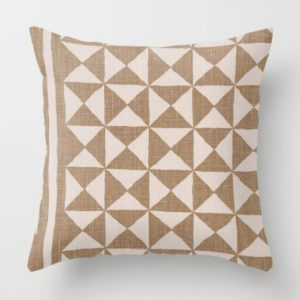 Nuba Pillow - Taupe Brown