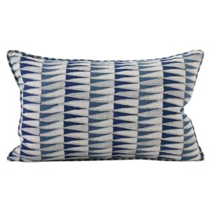 Tangier Denim Linen Pillow