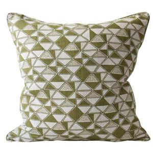 Cairo Moss Linen Pillow