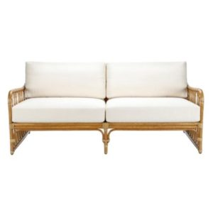Sona Settee in Nutmeg
