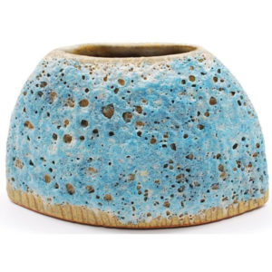 Trapezoid Vase, Sea Blue SRI-120-B
