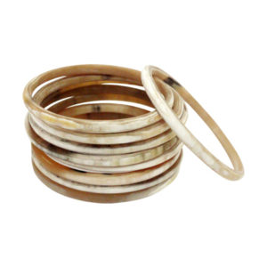 Rounded Buff Bangles