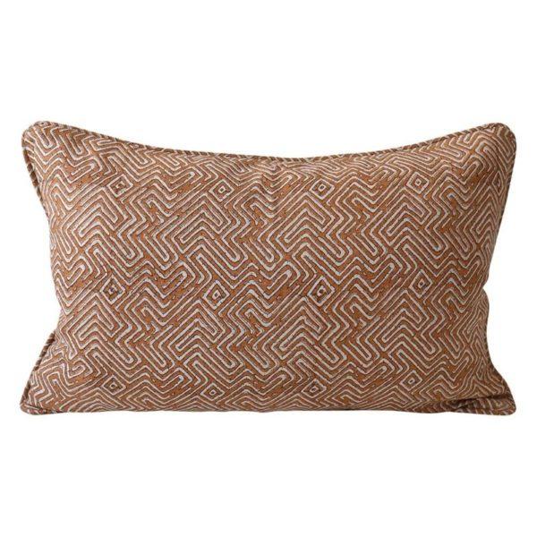 Khotan Rust Pillow