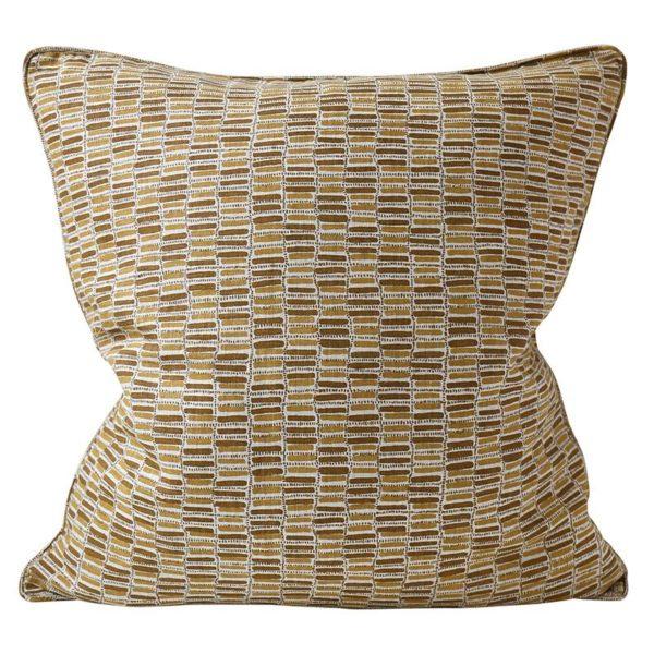Thebes Saffron Pillow