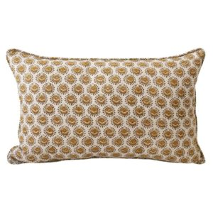 Lyon Saffron Pillow 14x22