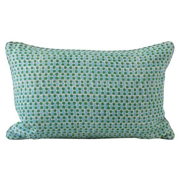 Jali Emerald Pillow 14x20