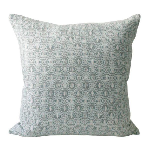 Kiwano Celadon Pillow 20x20