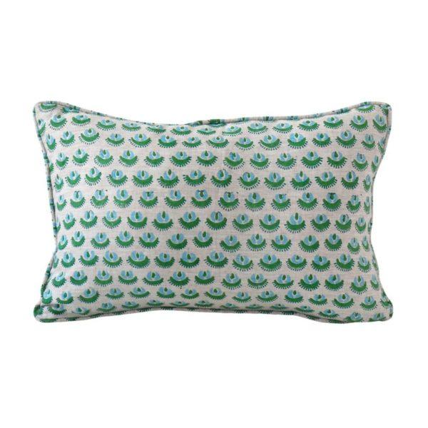 Cadiz Emerald Pillow 12x18
