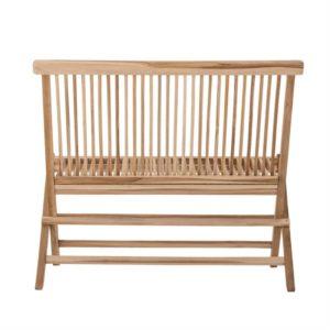 Teak Wood Folding Bench