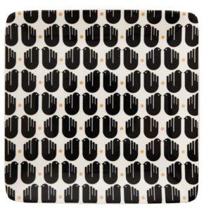 Stoneware Platter w/ Birds