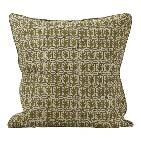 Cassis Olive Pillow 20x20