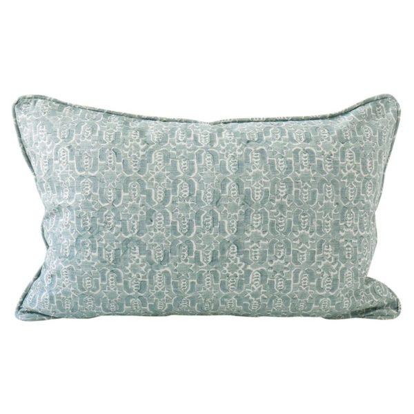 Fez Celadon Pillow 14x22