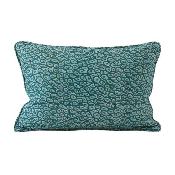 Uzes Emerald Pillow 12x18