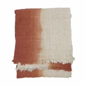 Grad Dye Throw, Blush