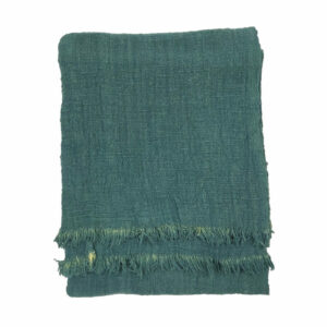 Solid Dye Throw, Green