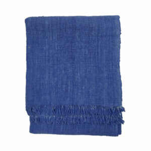 Solid Dye Throw, Indigo