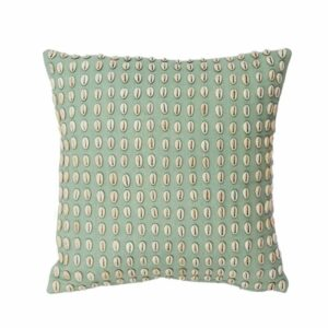 Linen Cowrie Pillow, Mint