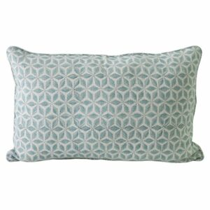 Hanami Light Blue Pillow 14x22