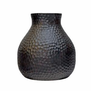 Suar Hammered Vase Med