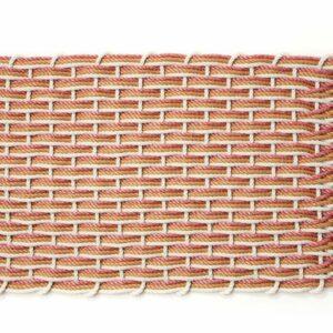 Oyster + Honeycomb + Red Sandstone Doormat