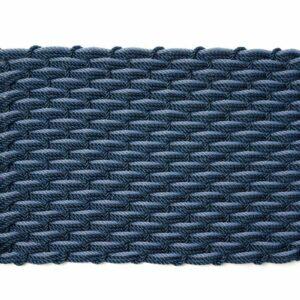 Navy + Navy + Glacier Bay Doormat