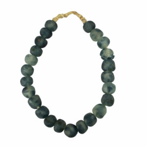 African Recycled Glass Beads Lg